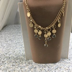 Jewelry - Double gold chain necklace